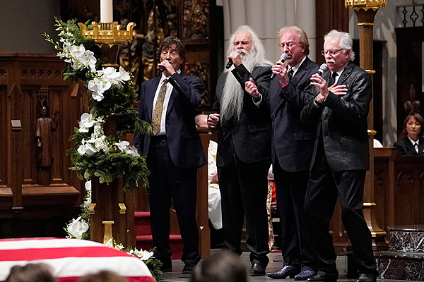 Oak Ridge Boys Sing Amazing Grace For Pres George H W Bush