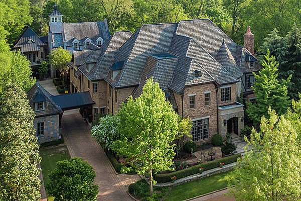 Peek Inside Big Kenny Alphin S Stunning Nashville Mansion