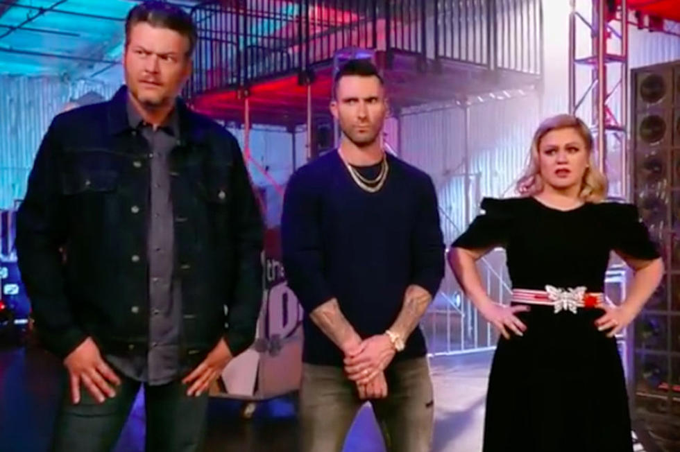 2209d78226 John Legend Has Blake Shelton Shaking in His Boots in 'The Voice' Season 16  Promo