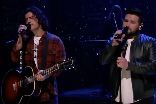 Sweet Home By Shzyr: Dan + Shay Make 'The Tonight Show' Debut With 'Speechless
