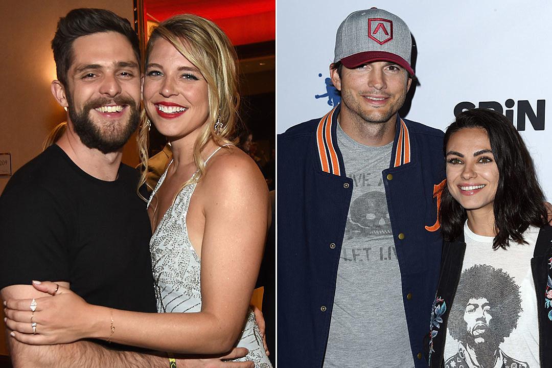 Thomas Rhett and His Wife Are Sorta Besties With Ashton and Mila