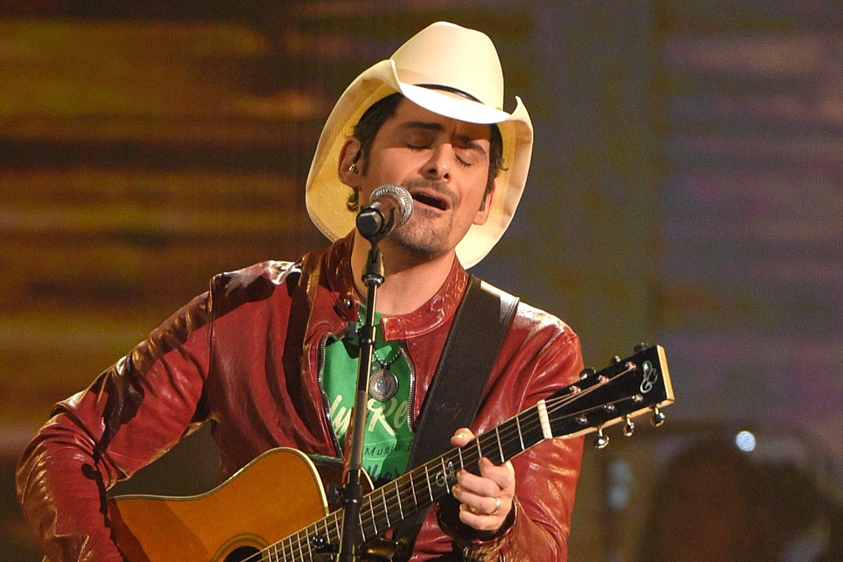 Brad Paisley to Be Featured on Rolling Stones' Best-Of Album