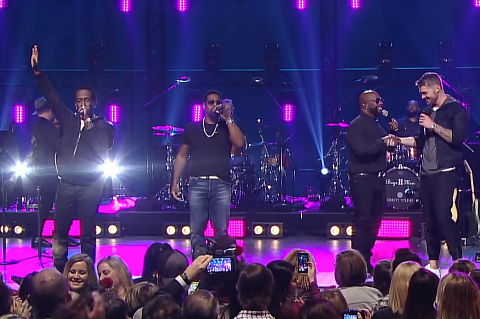 Brett Young Joins Boyz II Men for classic 'I'll Make Love To