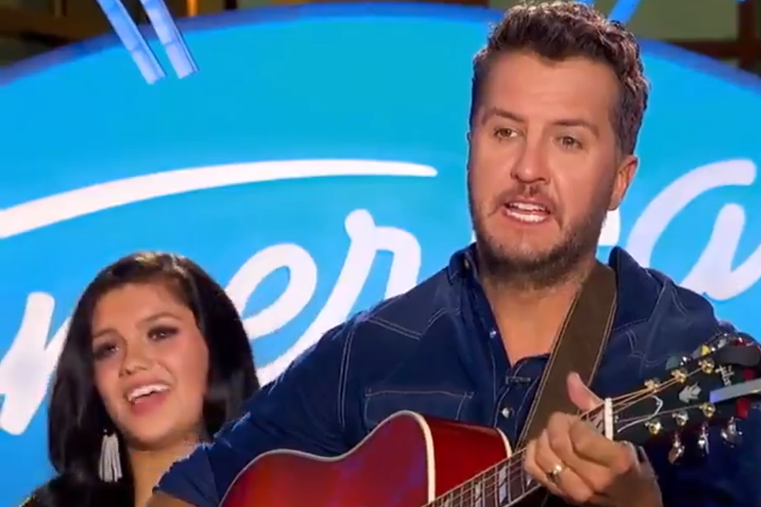 Luke Bryan Is the Official 'American Idol' Guitar Tuner