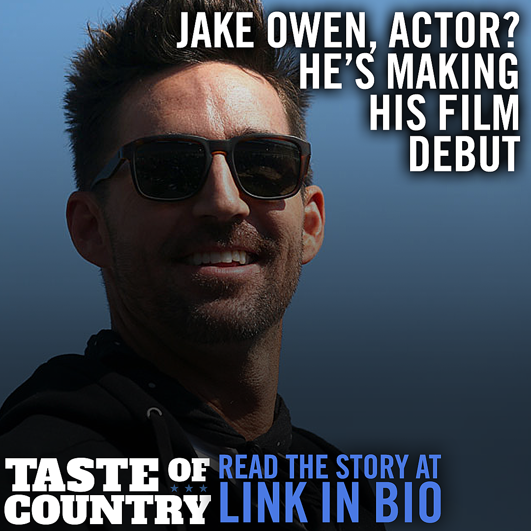 Jake Owen to Make His Acting Debut In 'The Friend'