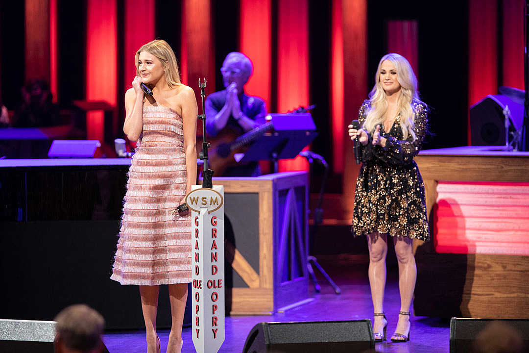 Kelsea Ballerini's Opry Induction Included a Carrie Underwood Duet