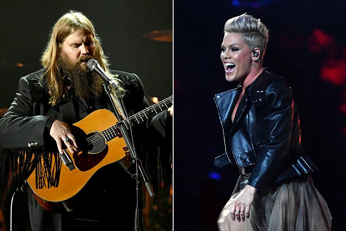 Chris Stapleton New Album 2020 Chris Stapleton Lends His Voice for Pink's New Album