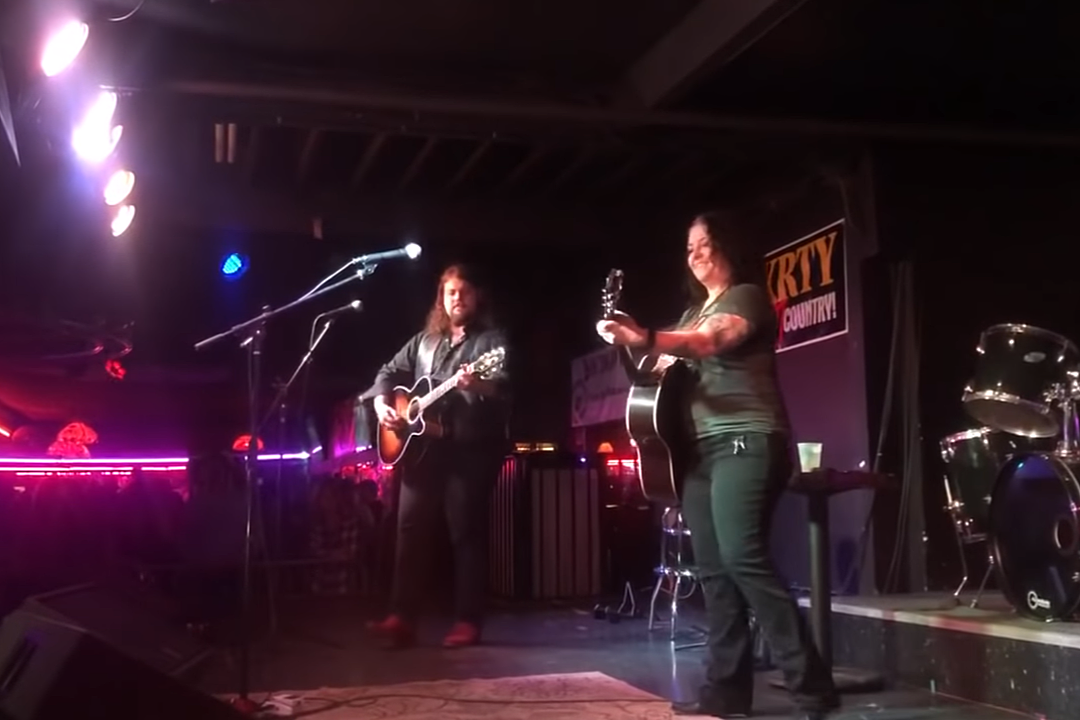 Dillon Carmichael, Ashley McBryde Turn 'Tennessee Whiskey' Into Amazing Fan Singalong