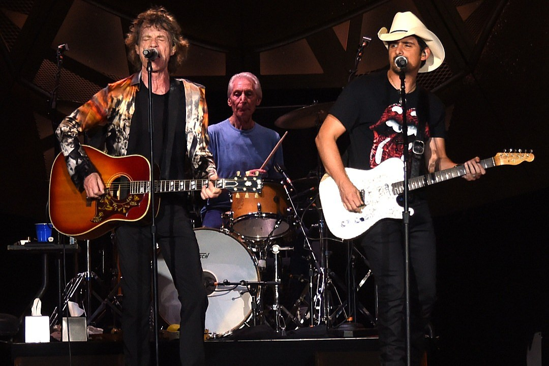 Hear Brad Paisley's Live Collab With the Rolling Stones on 'Dead Flowers'