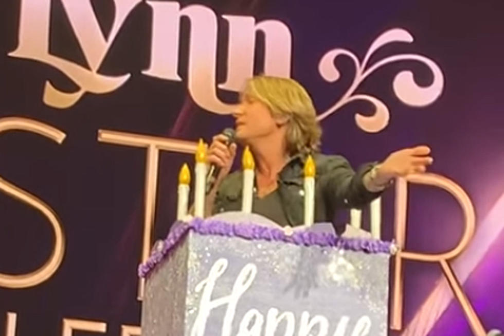 Keith Urban Keeps Promise Jumps Out Of Loretta Lynns Birthday Cake Watch
