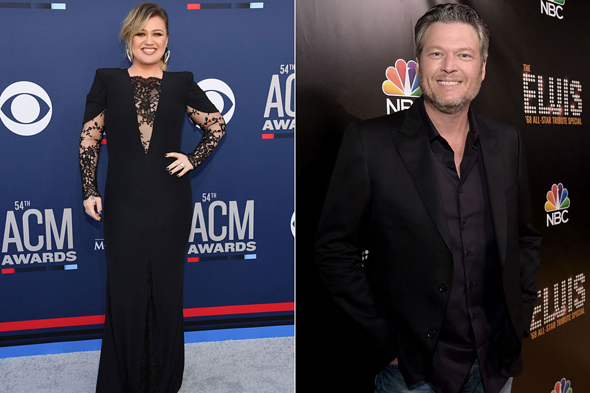Kelly Clarkson Taunts Blake Shelton Backstage on 'The Voice