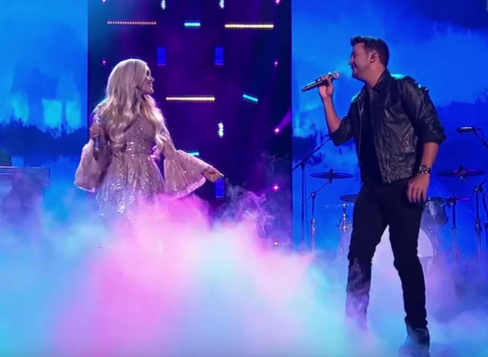 WATCH: Luke Bryan, Laci Kaye Booth Duet 'Every Breath You Take' on 'American Idol'