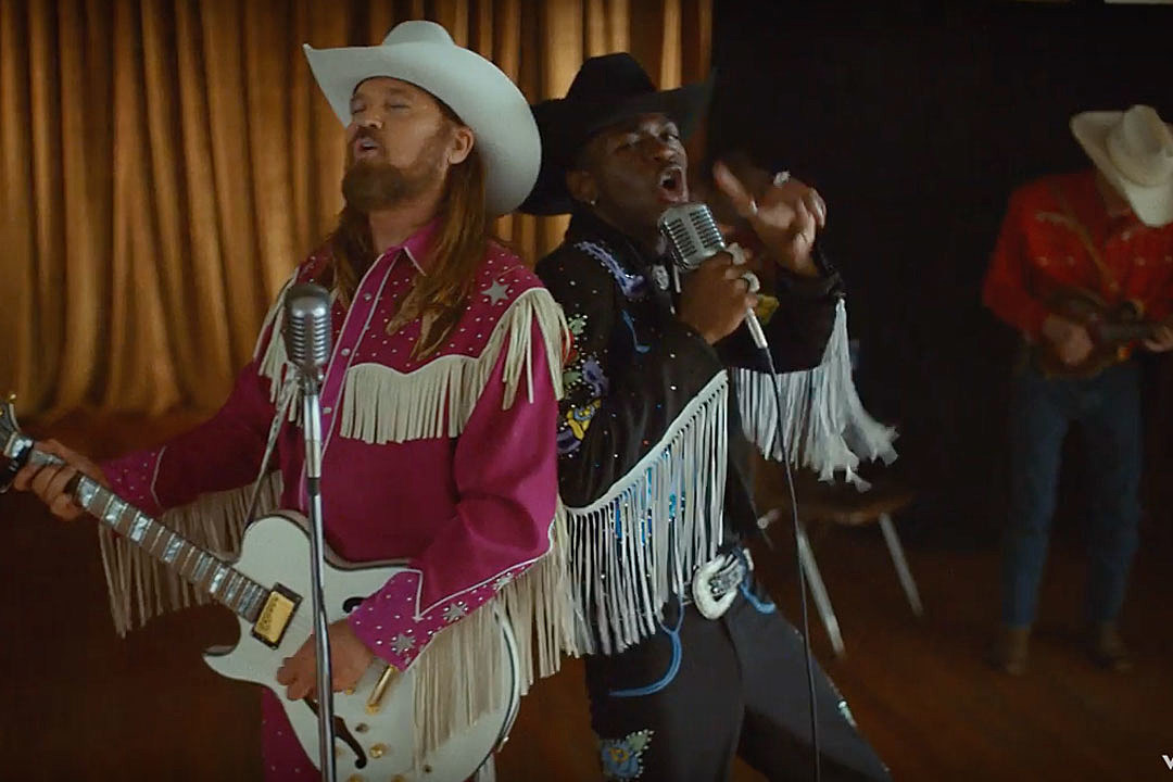 Lil Nas X + Billy Ray Cyrus' 'Old Town Road' Music Video: All the Easter Eggs You Missed