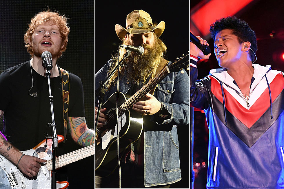 249f6a0e607 Chris Stapleton Collaborating With Ed Sheeran, Bruno Mars