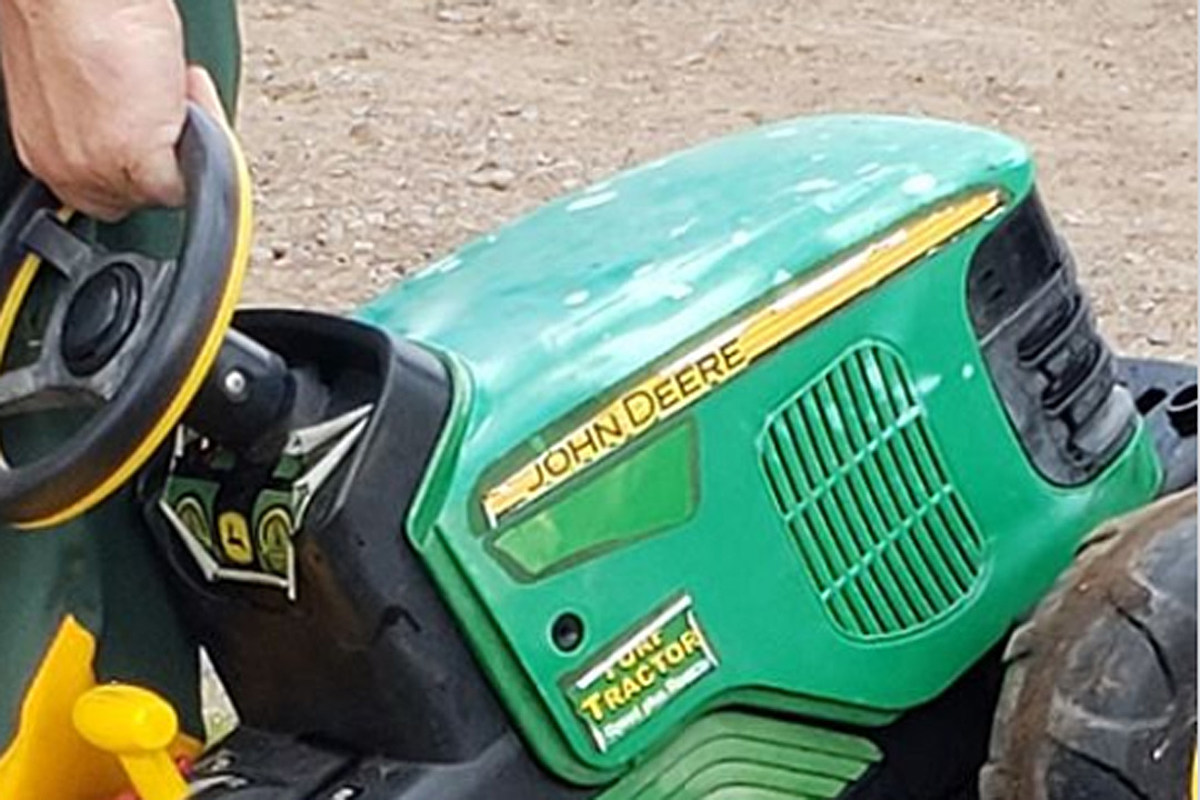 Cadillac Evening News >> Missing Toddler Drove Himself to the County Fair on Toy Tractor