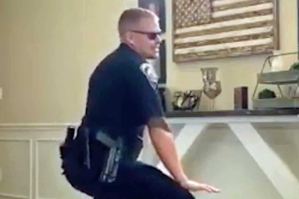 WATCH: Hot Cops Doing the Git Up Challenge Is What You Need!