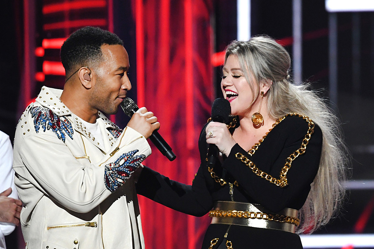John Legend, Kelly Clarkson Re-Slant Controversial Holiday Song