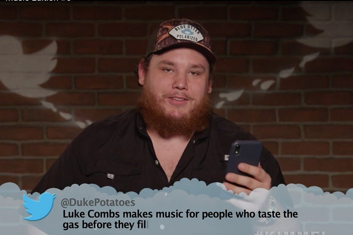 WATCH: Luke Combs Gets Roasted in New 'Mean Tweets' Episode - Taste of Country