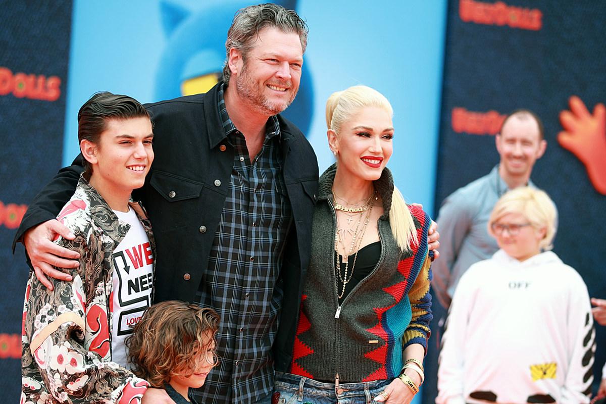 Blake Shelton Knows His Place as Bonus Dad to Gwen Stefani ...