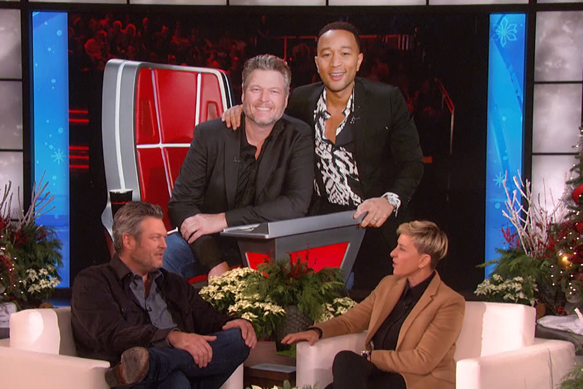 Blake Shelton Says John Legend Was Wrong Choice for Sexiest Man Honor