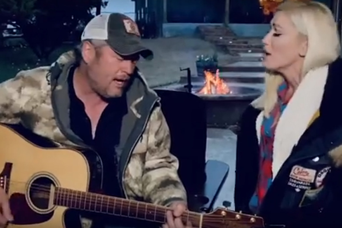 WATCH: Blake Shelton, Gwen Stefani Duet From Home on ACM Special Preview