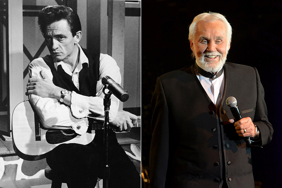 Remember When Johnny Cash Recorded Kenny Rogers The Gambler
