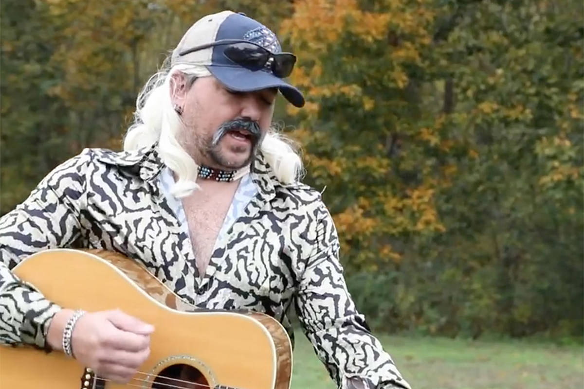 Jason Aldean Is Joe Exotic For Halloween But Who S Carole Baskin No one has yet been cast to take on the larger than life role of joe exotic. jason aldean is joe exotic for