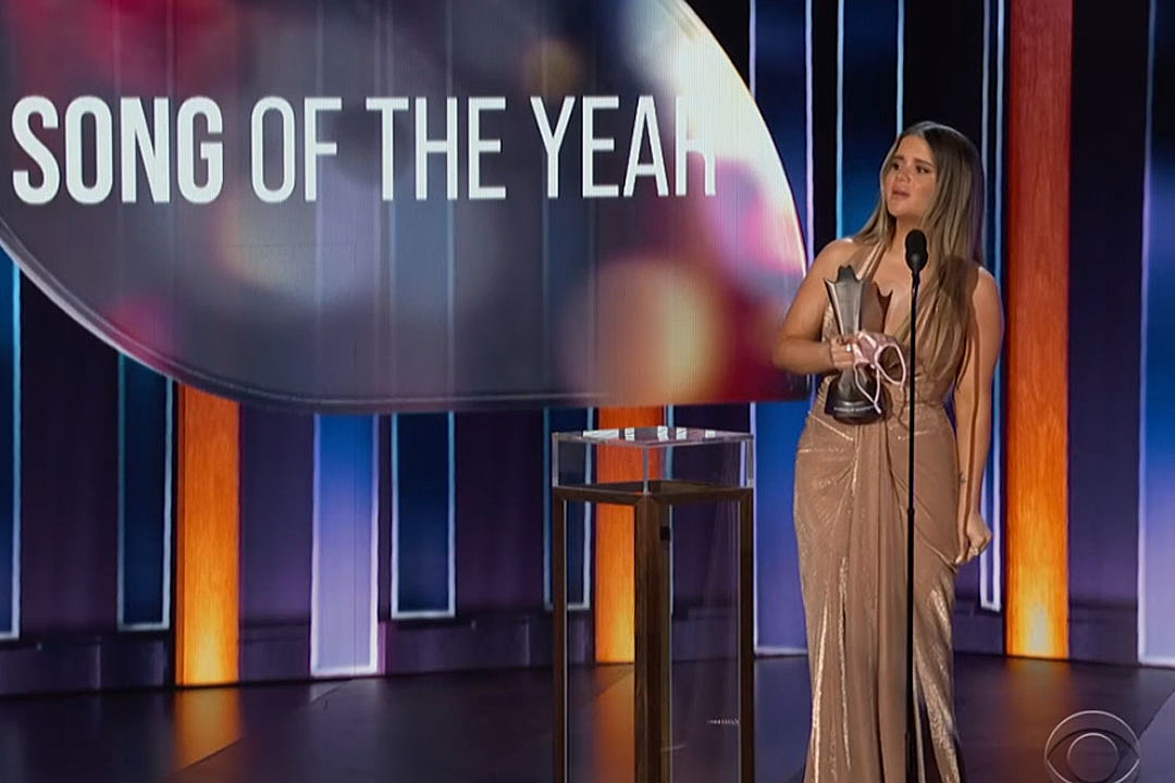 Maren Morris Wins 2021 ACMs Song of the Year With 'The Bones'
