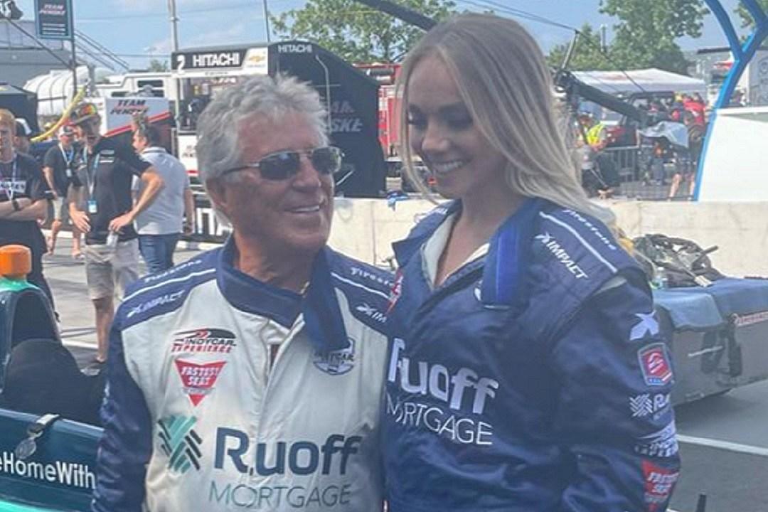 WATCH: Danielle Bradbery's IndyCar With Mario Andretti