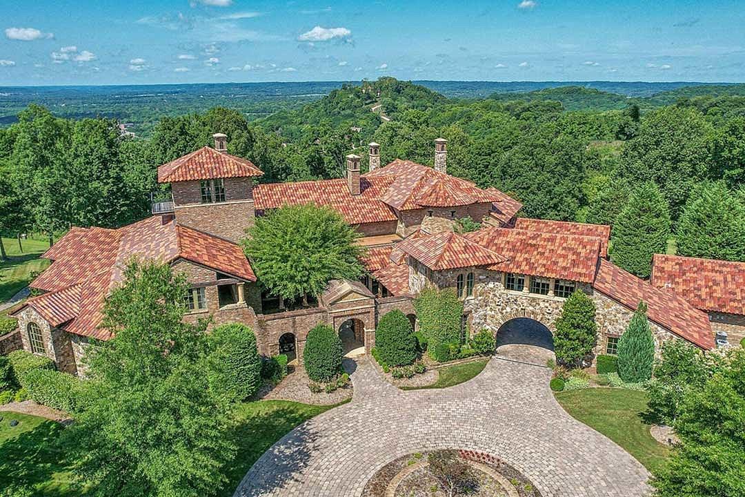 Kenny Chesney Selling Spectacular Hilltop Estate for $14 Million
