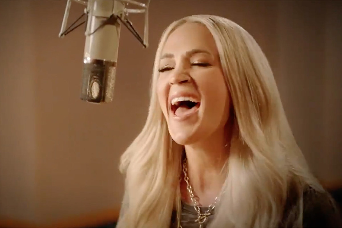 See a Teaser of Carrie Underwood's New 'Sunday Night Football' Opener - Taste of Country
