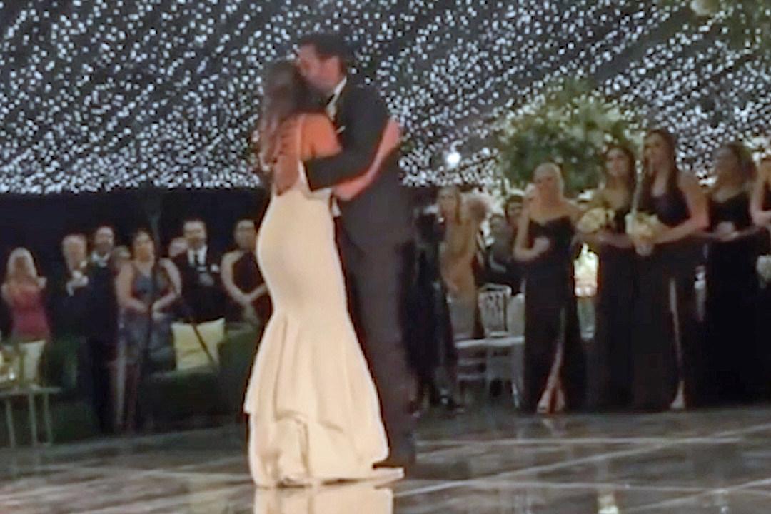 Luke Bryan Steps in for Emotional Dance at Niece Jordan's Wedding