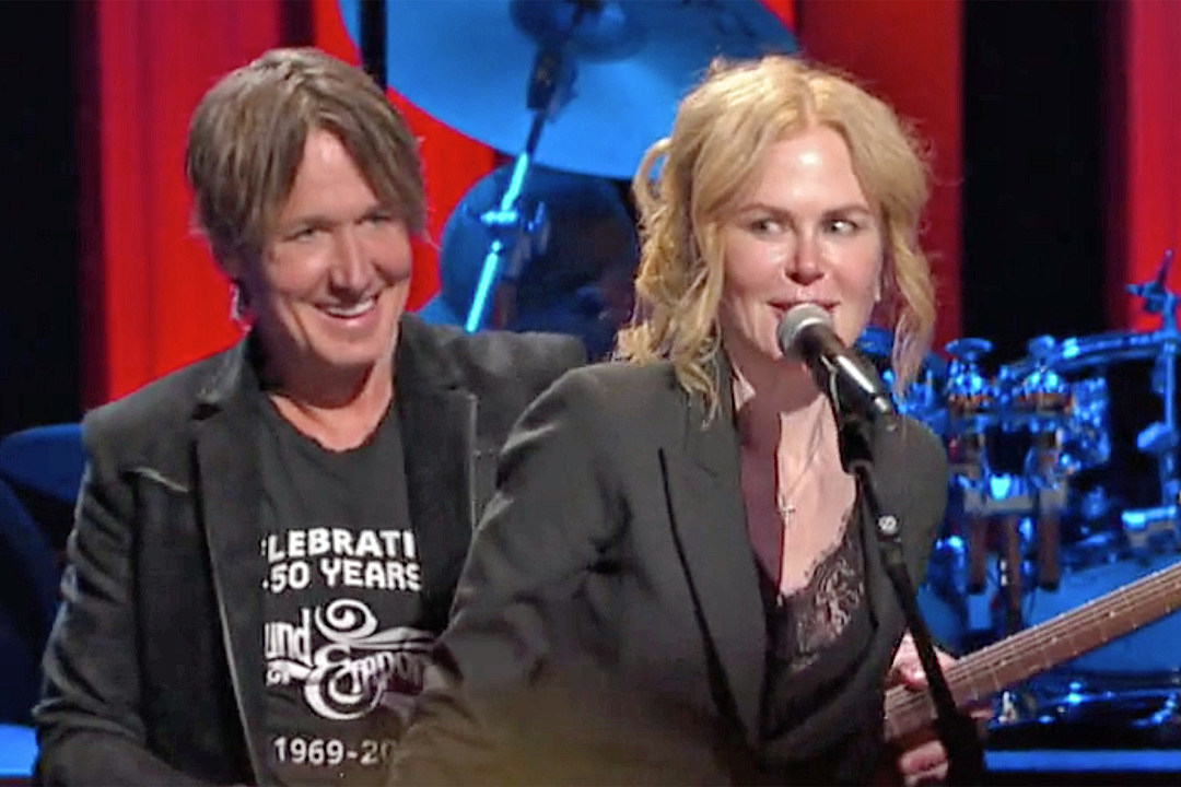 Nicole Kidman Joins Keith Urban at the Opry for Hometown Rising