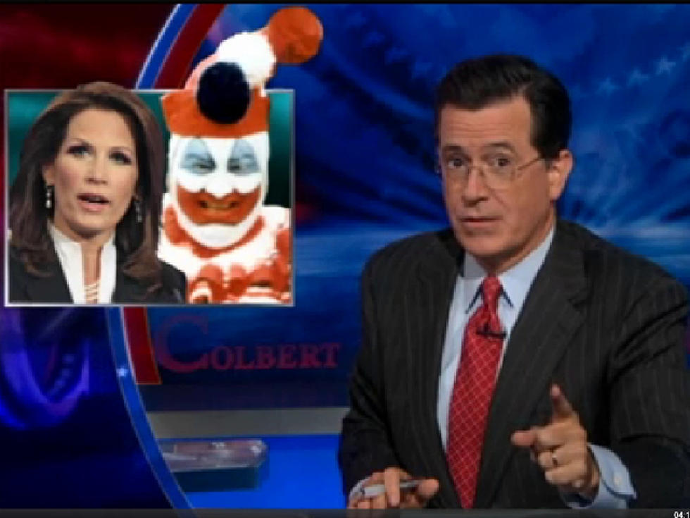 Stephen Colbert Comes to Michele Bachmann's Defense Over