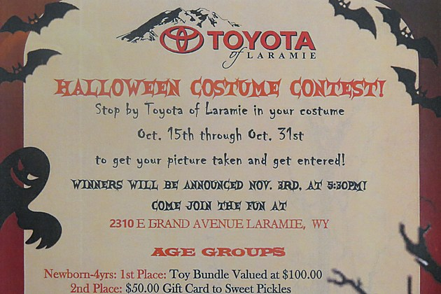 Toyota Of Laramie >> Toyota Of Laramie Costume Contest