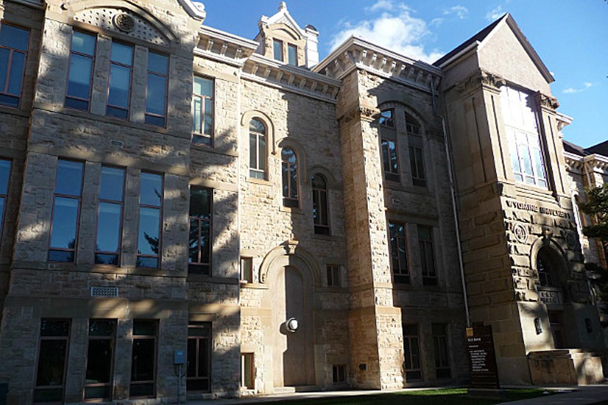 Hoyt Hall Womens Dorm University of Wyoming Laramie Linen