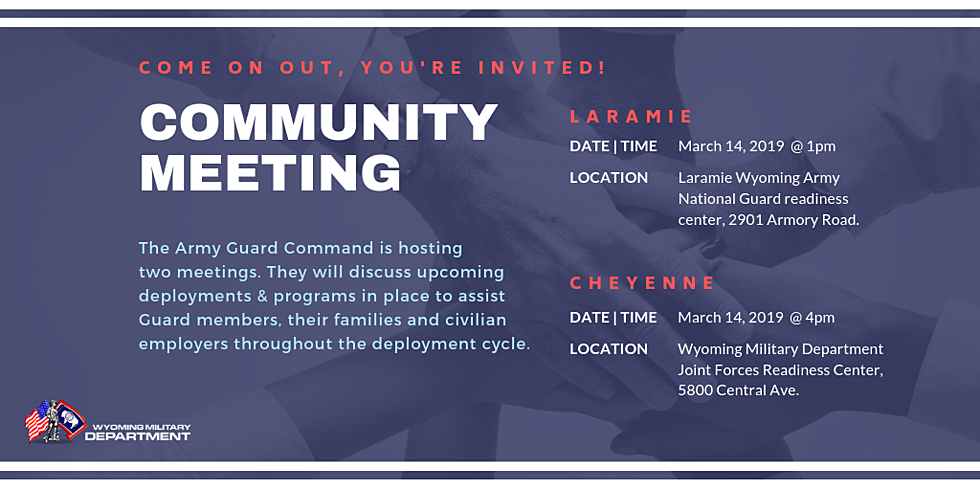 ARMY GUARD COMMAND HOSTS LARAMIE COMMUNITY MEETING MARCH 14