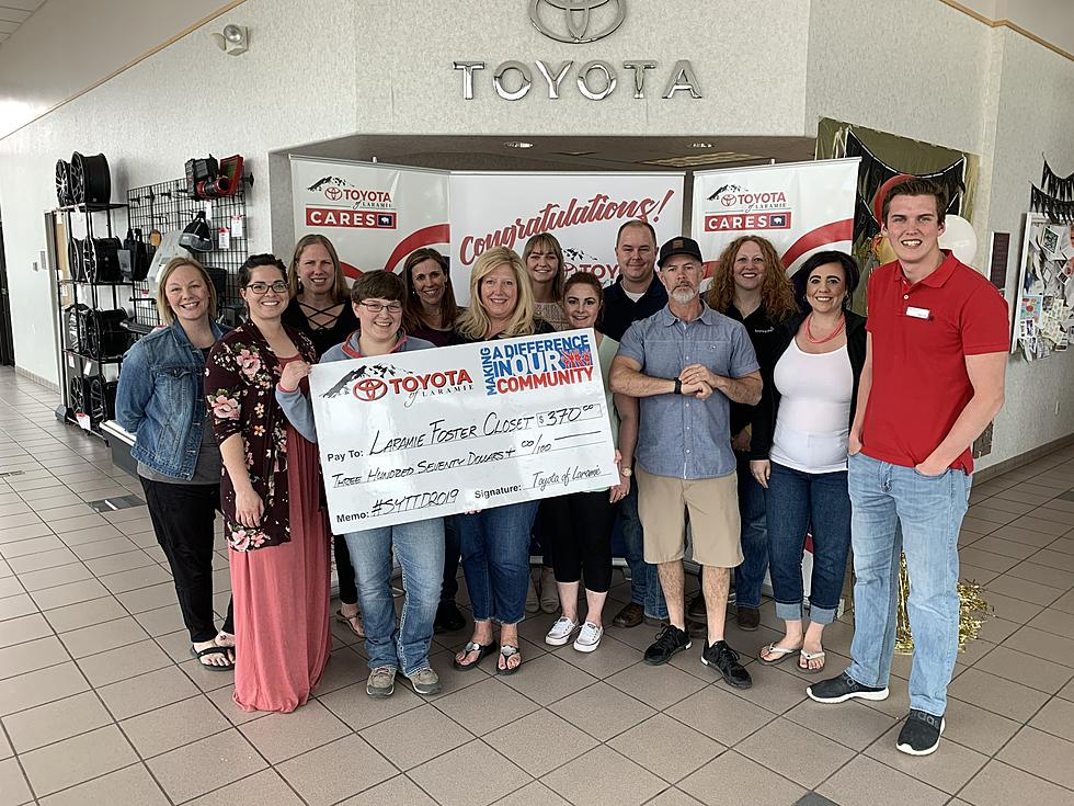 Toyota Of Laramie >> Say Yes And Donate The Dress Was A Success And We Have A