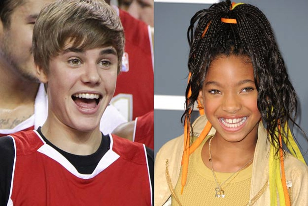Justin Bieber Plays Onstage Prank on Willow During 'Whip ...