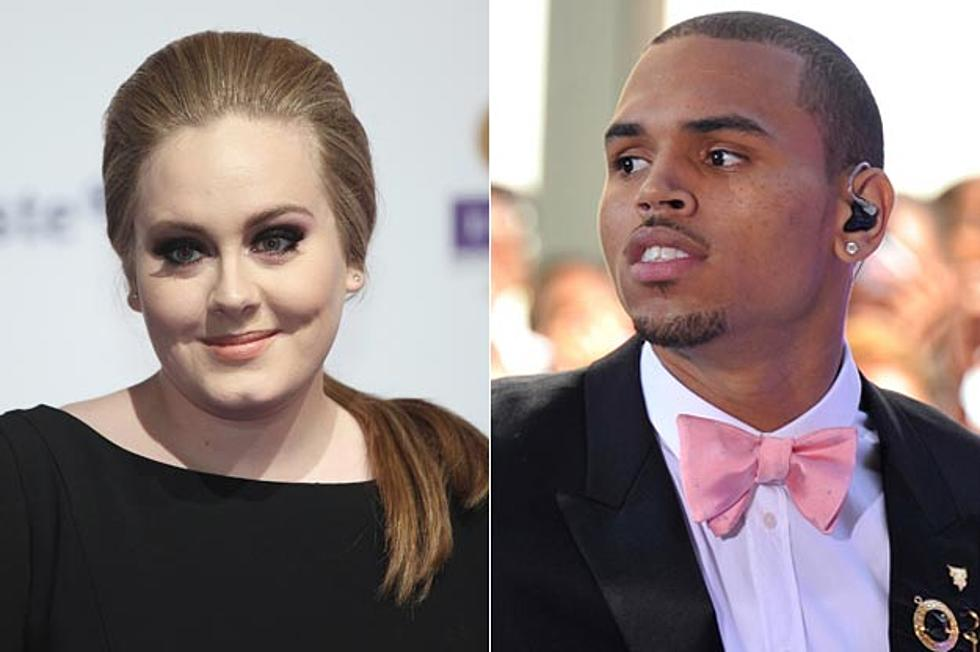 Adele Chris Brown Added To Performance Roster For 2011 Vmas