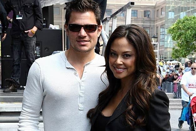 Nick Lachey Vanessa Minnillo Spend Mini Honeymoon In St Barts