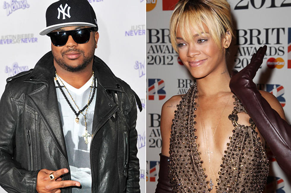 Remarkable Birthday Cake Producer The Dream Supports Rihanna Chris Brown Remix Personalised Birthday Cards Veneteletsinfo