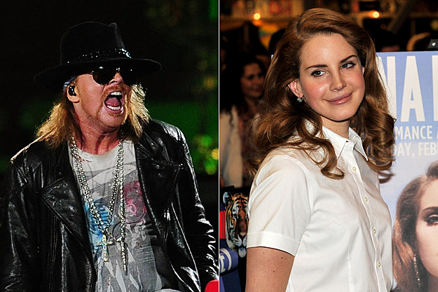 axl rose dating show