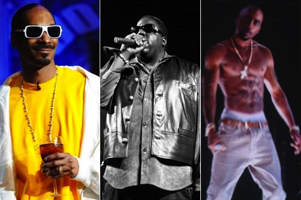 Snoop Dogg + Tupac Shakur + Notorious B I G  Among Interactive Hip