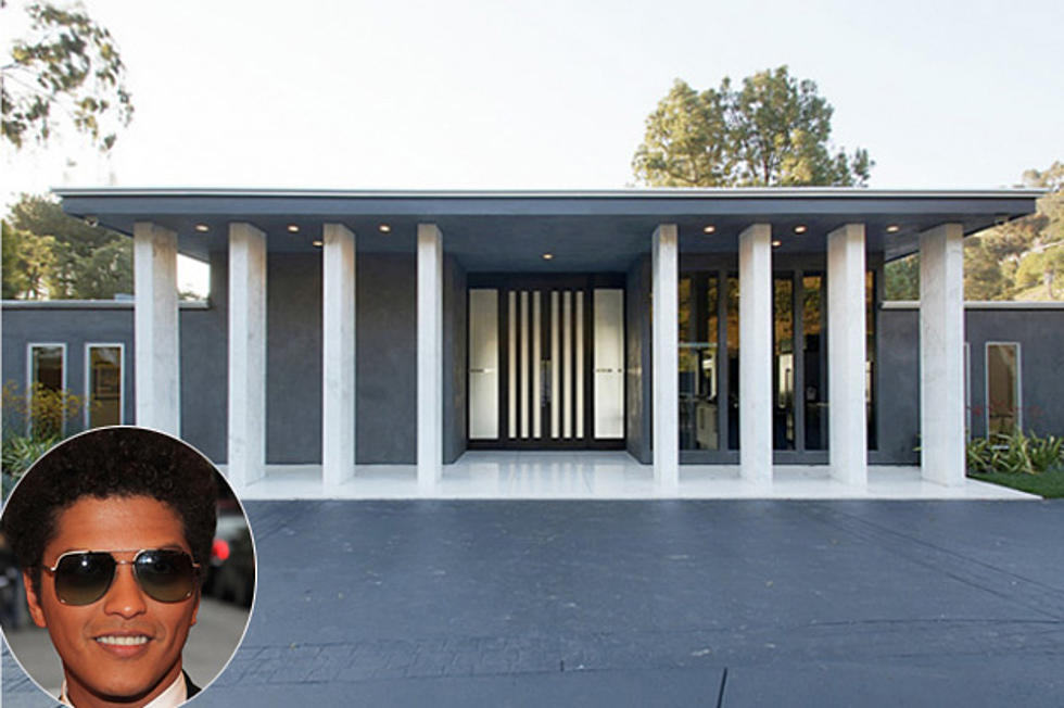 Incredible See Bruno Mars New Mansion In Laurel Canyon Download Free Architecture Designs Rallybritishbridgeorg