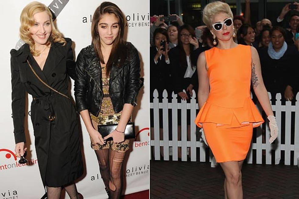 Madonna's Daughter Lourdes Embarrassed by Lady Gaga Feud