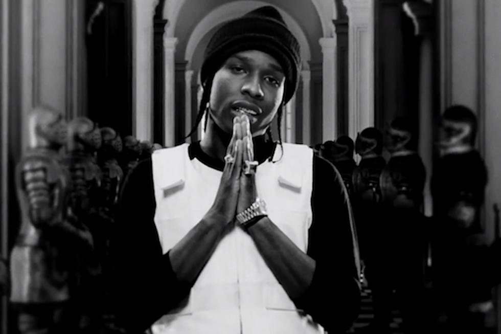 A$AP Rocky Discusses 'Long Live A$AP' Collabs + Goals for 2013