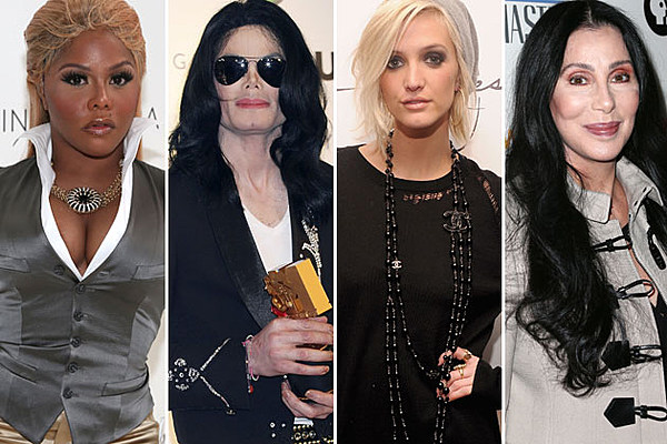 Before After Plastic Surgery Pictures Of Pop Stars