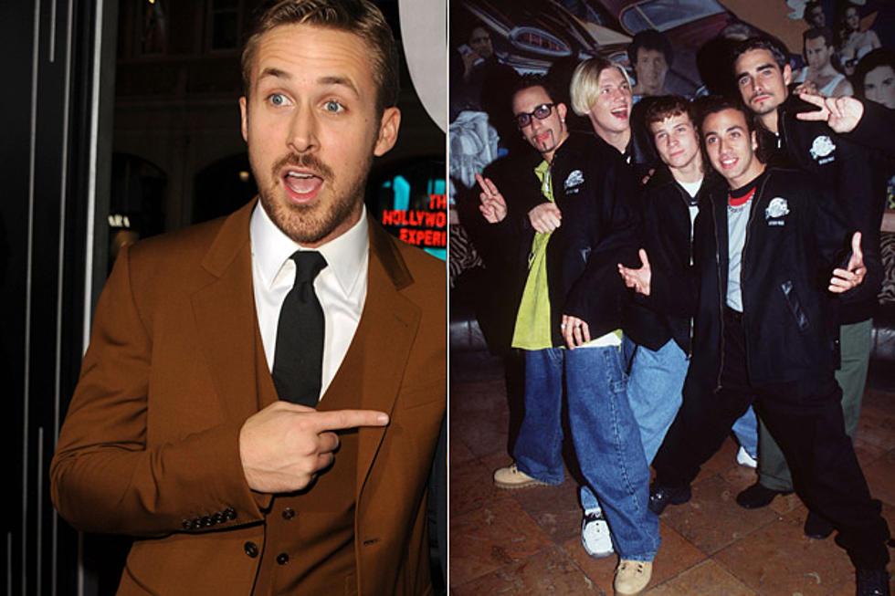 Image result for ryan gosling on backstreet boys