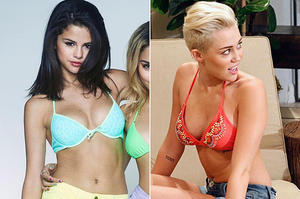 Selena Gomez vs. Miley Cyrus: Who Has the Best Bikini Body ...